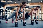 Couple In Gym poster