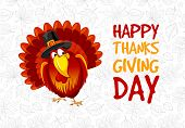 Thanksgiving Day Greeting poster