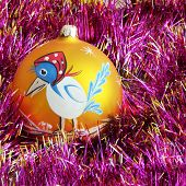 New Year Decorations. Christmas Tree Decorations. Holiday Decorations poster
