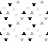 Seamless Geometric Pattern. Seamless Abstract Triangle Geometrical Background. Infinity Geometric Pa poster