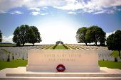 First World War Cemetery Near Arras, Northern France