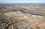 picture of piestewa  - Construction on Major League Baseball Spring Training Facility from above - JPG