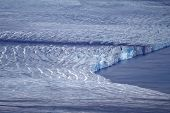 stock photo of denude  - Glacier and ablation - JPG