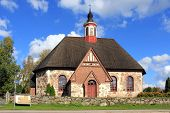 pic of octagon  - The Late Medieval Church of St James Renko Finland - JPG
