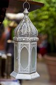 image of middle eastern culture  - Close up detail of the Middle Eastern Lamp