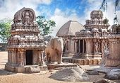 Five Rathas In Mamallapuram