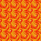 Design Seamless Colorful Twirl Pattern. Bright Geometric Circular Textured Background