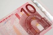 A Ten Euro Bill From The European Union