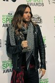 LOS ANGELES - MAR 1:  Jared Leto at the Film Independent Spirit Awards at Tent on the Beach on March