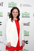 LOS ANGELES - MAR 1:  Elisabeth Moss at the Film Independent Spirit Awards at Tent on the Beach on M