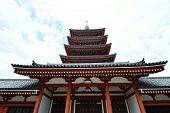 pic of shogun  - Asakusa area where the old temple is located Tokyo Japan - JPG
