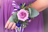 foto of dowry  - Floristic composition in vintage style - JPG
