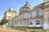 picture of senators  - Ancient palace built for the French queen Marie de Medici - JPG
