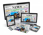 image of newspaper  - Desktop monitor - JPG