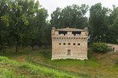 stock photo of ferrara  - Medieval castle of Stellata  - JPG