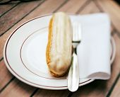 picture of oblong  - Eclaire  - JPG