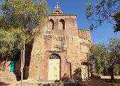 foto of ethiopia  - Monolithic church Wukro Cherkos, Tigray, Ethiopia, Africa