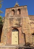 image of ethiopia  - Monolithic church Wukro Cherkos, Tigray, Ethiopia, Africa