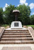 pic of petition  - France the unknown slave memorial in Petit Canal in Guadeloupe  - JPG
