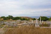 foto of sevastopol  - Ancient Greek Chersonesus Taurica near Sevastopol in Crimea - JPG