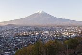 picture of mount fuji  - the area around Mt - JPG