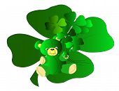 Teddy Bear Shamrocks