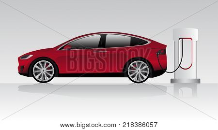 Modern electric car