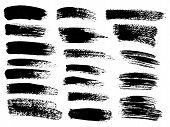 Ink Blots Grunge Urban Background.texture Vector. Dust Overlay Distress Grain . .black Paint Splatte poster
