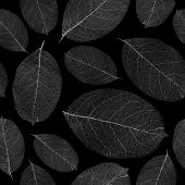 Dried leafs seamless background - seamless pattern for continuous replicate. See more seamless patte