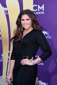 LAS VEGAS - APR 1:  Hillary Scott arrives at the 2012 Academy of Country Music Awards at MGM Grand G