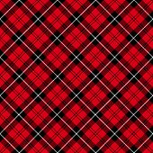 Tartan  Plaid  Seamless Pattern Background. poster