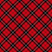 Tartan  Plaid  Seamless Pattern Background. poster
