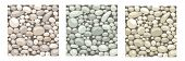 Set Of Seamless Patterns. Texture With Stones, Cobble, Rocks To Create Landscape Scenes Background,  poster