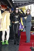 LOS ANGELES, CA - APR 5: Catwoman at a ceremony where Adam West is honored with a star on the Hollyw
