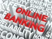 stock photo of personal safety  - Online Banking Concept - JPG