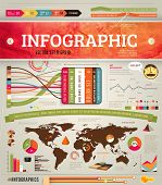 foto of illustration  - Set elements of infographics for design - JPG