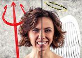 Постер, плакат: Разные эмоции