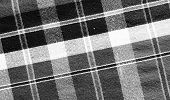Black&white Loincloth Fabric Background