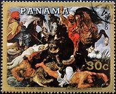 PANAMA - CIRCA 1980: A stamp printed in Panama shows