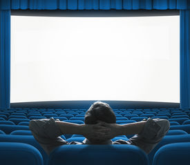 pic of cinema auditorium  - Exclusive movie preview on big screen - JPG