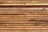 stock photo of driftwood fence  - Stacked Wooden Boards Texture For Your Design - JPG