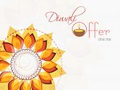 picture of rangoli  - Stylish offer poster - JPG
