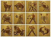 stock photo of pisces horoscope icon  - zodiac signs  - JPG
