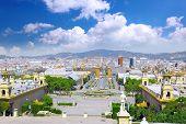 picture of gaudi barcelona  - Placa De Espanya Barcelona - JPG