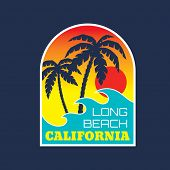 picture of letter t  - California Long Beach  - JPG