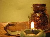 picture of wiccan  - Wiccan/pagan items.