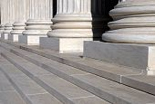 picture of supreme court  - The front steps of the United States Supreme Court - JPG