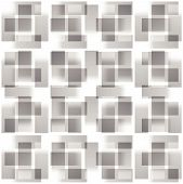 picture of grayscale  - Grayscale abstract square pattern - JPG