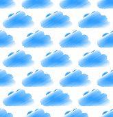 stock photo of cumulus-clouds  - Sketchy  - JPG