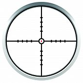 pic of crosshair  - Crosshair reticle target mark - JPG